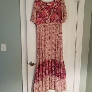 Spell Designs Winona Maxi Dress Berry